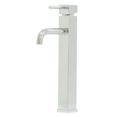 Gemma Square Tower Basin Mixer - CP